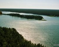 Jezioro Serwy Gmina Płaska